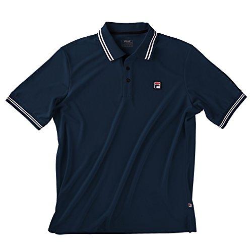 Fila Oberbekleidung Polo Shirt Button Piro Poloshirts, dunkelblau, L