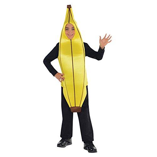 Banane witziges Kostüm Kinder Amscan