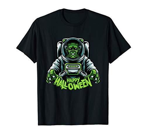 Kostüm Frauen Weltraum - Frankenstein Halloween Astronaut Kostüm Weltraum gruselig T-Shirt