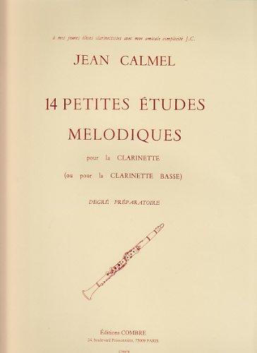 14 Petites études mélodiques par Calmel