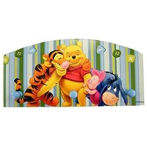 Porte manteau , patère Winnie The Pooh Disney en bois imprimé