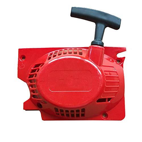 Kettensäge Pull Starter 5200 5800 52cc 58CC Einzel Starter Chainsaw Vergaser Carb Recoil Starter Zündspule Filter Chainsaw Kreissäge Teile