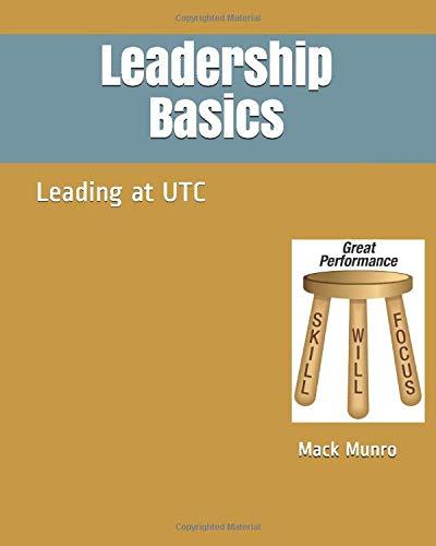 Leadership Basics: Leading at UTC