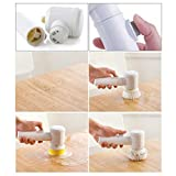 Techsun Multi-Function Universal 5 in 1 Electric Power Scrubber Cleaning Brush for Kitchen