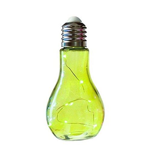 Ampoule lampe LED à poser ou à suspendre - Design - Coloris VERT
