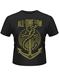 Plastic Head Men's All Time Low Holds It Down Crew Neck Short Sleeve T-Shirt