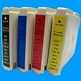 10x kompatible Druckerpatronen ersetzt Brother LC 1000, MFC235c/240C/260c/ 440CN/ 660CN, DCP 130C/DCP 135c/150/ 330C