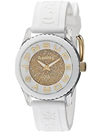Superdry Analog Gold Dial Women's Watch-SYL174WG