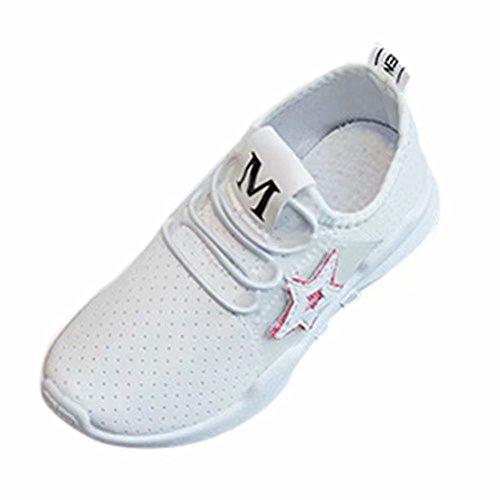 Doublehero Outdoor Babyschuhe Kinder Jungen Mädchen Bling Brief Running Style Sneaker Freizeitschuhe Sportschuh Lauflernschuhe Wanderschuhe Beiläufige Turnschuhe Atmungsaktive Schuhe