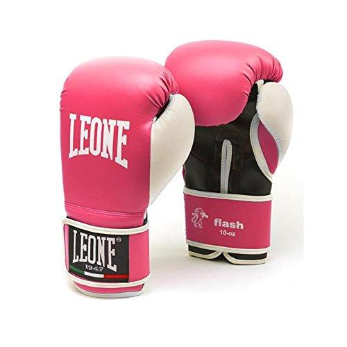 Gants de boxe Leone Flash M Lady Fuchsia 10oz.