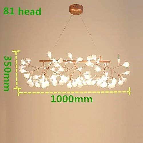 Plafoniera lampadario a led albero di lusso foglia lampade a sospensione deco lampadario per sala da pranzo casa camera da letto