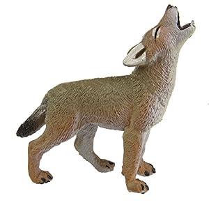 Safari S227129 Wild North American Wildlife Coyote Pup Miniatura