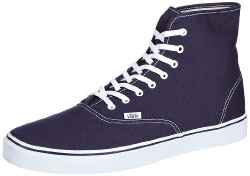 Vans U AUTHENTIC HI NAVY/TRUE WHITE VRQFNWD, Unisex-Erwachsene Sneaker, Blau (navy/true white), EU 38.5 (US 6.5)