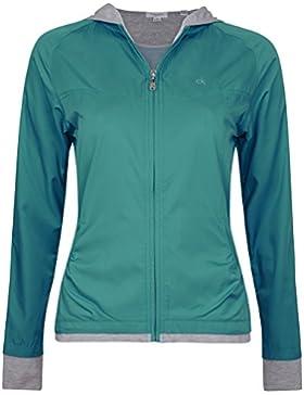 55% de descuento de Nueva Mujer Calvin Klein Soft Shell con capucha para hombre resistente al viento repelente...