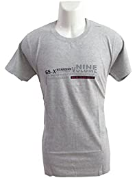 revin grey with nine vuluivie graphic cotton xl tshirt