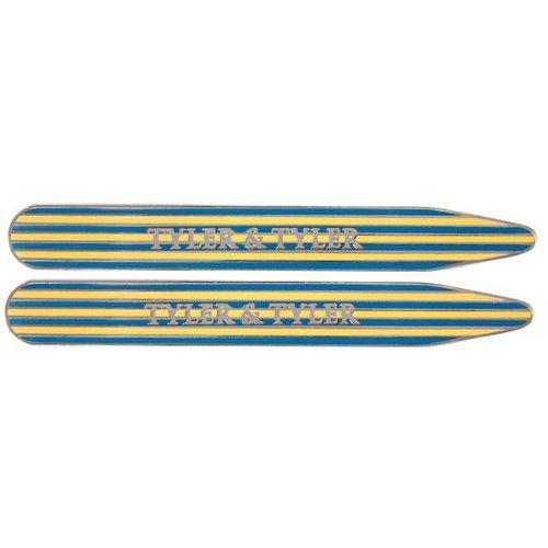 yellow-blue-enamel-pinstripe-collar-stiffeners