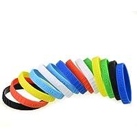 DSLRKIT-silicona lente anillo de goma Pulsera Pulseras SET (7 colores, 14pcs)