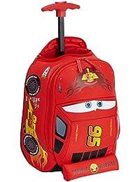 Disney Ultimate Cars Mochila Infantil, 8.5 Litros, Color Rojo
