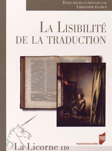 La Licorne, N° 110/2014 : La lisibilité de la traduction