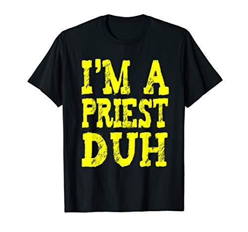 Kostüm Prediger - EINFACHE PRIESTER-HALLOWEEN-KOSTÜM-Geschenke Prediger T-Shirt