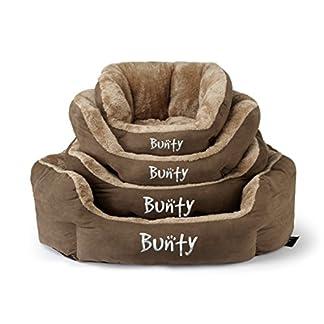 Bunty Polar Dog Pet Bed, Soft Cosy Fleece Fur Warm Cushion Basket, Machine Washable, High Sided, Cat, Small Animal… 24