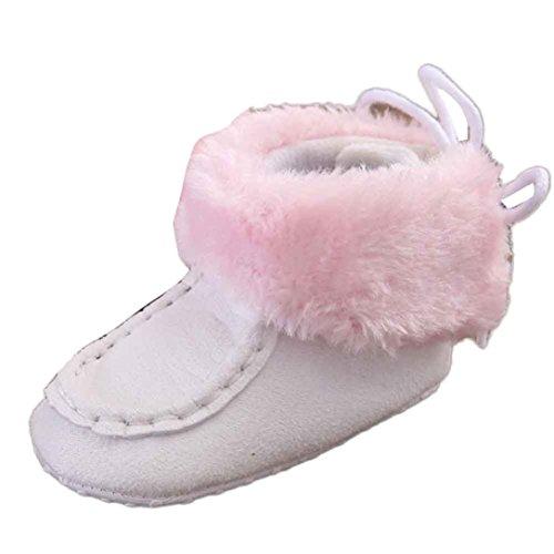 Bzline® Winterstiefel Krippe Weiß Schuhe Sohle Baby Schneestiefel Weiche RqBwag