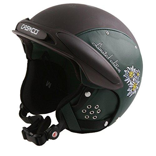 Casco Ski Casco SP-3 Limited Edition Skihelm, SP Limited Edition, Größe M 54-58 cm, Farbe Edelweiss grün braun
