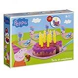 Smoby 7600002633 - Peppa Pig Torta di Compleanno con Accessori Inclusi