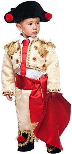 Preisvergleich Produktbild Carnevale Venizano CAV50710-3 - Kleinkindkostüm TORERO MANOLETE NEONATO - Alter: 0-3 Jahre - Größe: 3