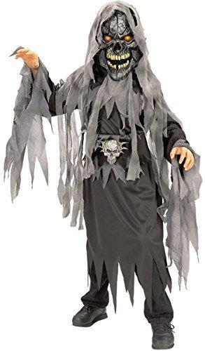 Jungen Böse Schädel Zombie Horror Halloween Kostüm Kleid Outfit 3 - 10 jahre - 5-7 years