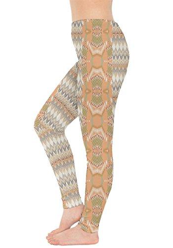 CowCow - Legging - Femme Black & Pink Orange 2