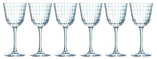 CreaTable 21077, série IROKO, vin Blanc 25 cl Verres Ensemble de 6 pièces