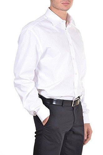 Camicia uomo frarica in cotone art. 007f col. e mis. a scelta (46, grigio perla)