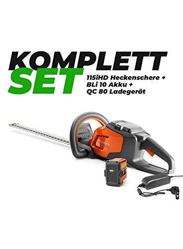 Husqvarna Heckenschere 115iHD45 + Akku + QC80