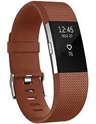 Bracelet Vancle pour Fitbit Charge 2 Fréquence Cardiaque, Bracelet de Remplacement Édition Classique pour Fitbit Charge 2 (Sans Traqueur)