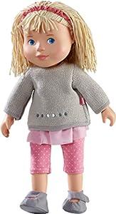HABA 304889 - Muñeca Elisa, muñeca Suave con Cabeza y extremidades de Vinilo, 32 cm, Juguetes a Partir de 3 años