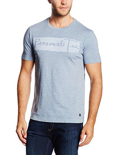 Marc O'Polo Herren T-Shirt 624224651776, Bluegrey 805, S (Herstellergröße S) (Aus T-shirt Pigment-gefärbtes)