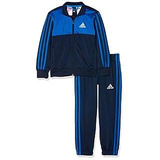 adidas Yb Tibero TS Ch Trainingsanzug für Kinder, Jungen, DI0184_116 (5/6 años), blau (Collegiate Navy), 116 (5/6 años)