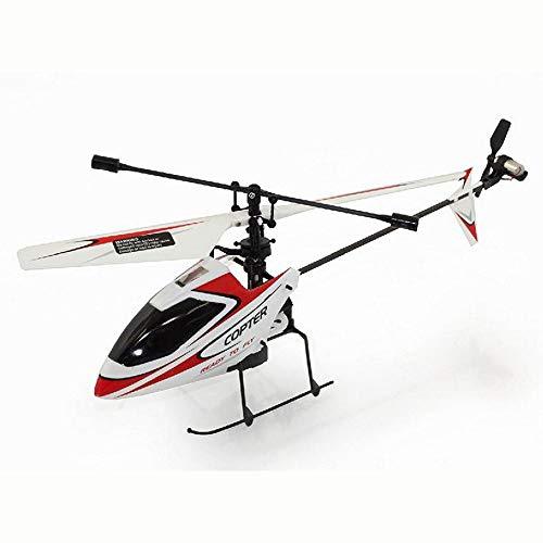 ELVVT Kleiner RC Hubschrauber V911 2.4GHz 4CH Fernbedienung Indoor Outdoor RC Hubschrauber mit Gyro RTF RC Flugzeugen - Kinder und Erwachsene Geburtstag (Micro 4ch-copter Series)