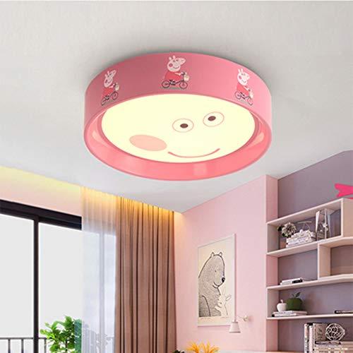 DECORATZ Cartoon Hello Kitty Stil Kinderzimmer Deckenleuchte, 3-farbig Licht Dimmbar Junge Mädchen Schlafzimmer Deckenleuchte D42 * H9CM-F -