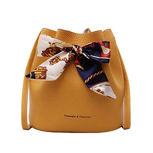Junjie Damentasche of The Wild Schultertasche Chic Messenger Bag Beuteltasche Joker Umhängetasche schicke Umhängetasche Super Bucket Bag -