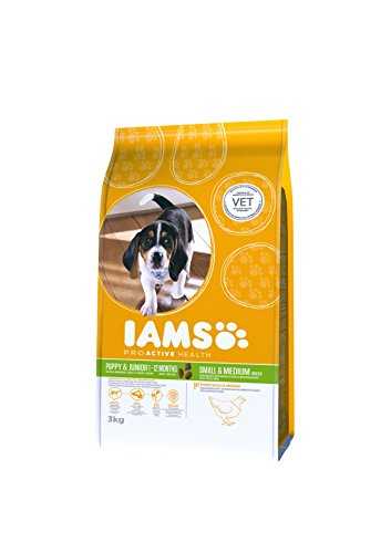IAMS for Vitality Small/Medium Breed Puppy Dry Dog Food with Fresh Chicken, 3 kg 5