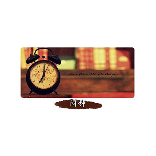 Haofengjing Mauspad Wecker Bild Xxl Professional Large Mauspad & Computerspiel Mauspad 300X700X3Mm