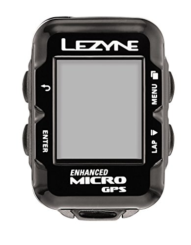 Lezyne 1-GPS-MICRO-V104 Micro GPS, Negro, M