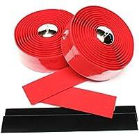 XLC Cork Handlebar Tape Red by XLC