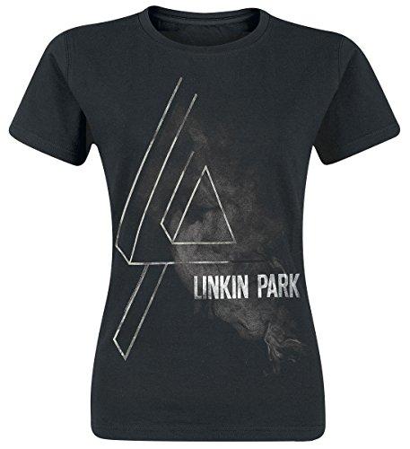 Linkin Park Smoke Logo Maglia donna nero S
