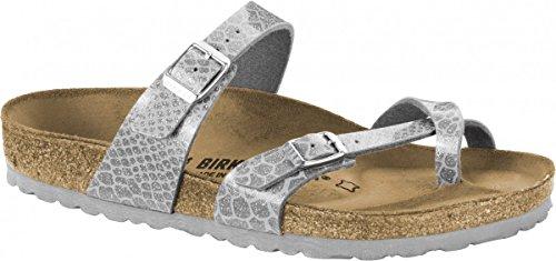 Geprägtes Leder-flip-flops (BIRKENSTOCK Mayari)
