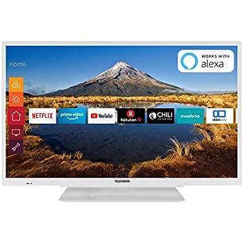 Telefunken XH32G511-W 81 cm (32 Zoll) Fernseher (HD ready ...