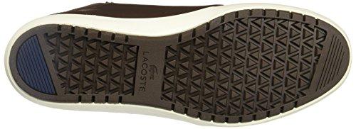 Lacoste Hommes Dark Marrone Ampthill Terra 316 1 Sneakers Marrone