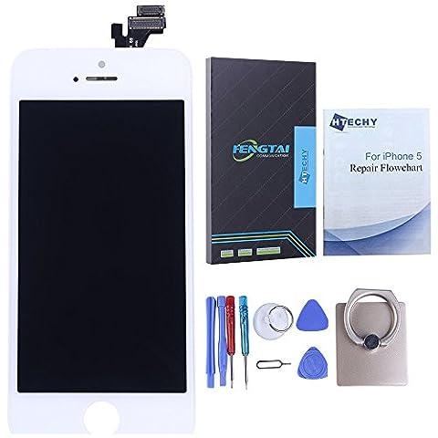 Htechy Ecran LCD Vitre Tactile de Rechange Display Avec Outils